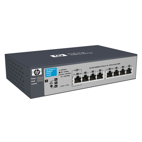 Smart-managed HP 1810-8 Switch - J9800A