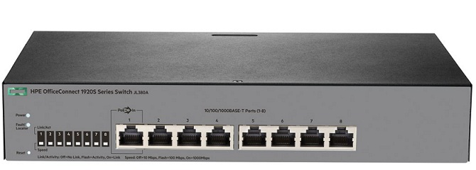 HP 1920S 8G Switch JL380A
