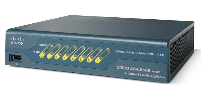 Bộ định tuyến bảo mật CISCO ASA5505-SEC-BUN-K9