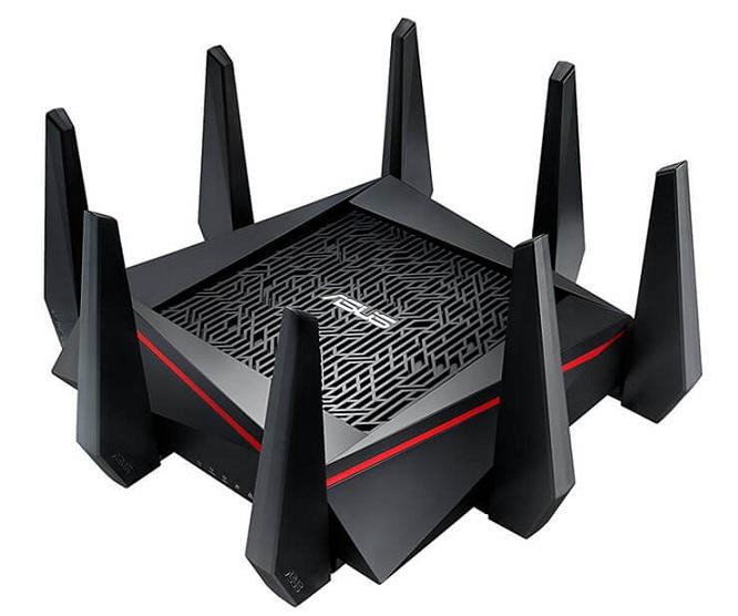 AC5300 Bộ định tuyến trò chơi Wi-Fi Gigabit ba băng tần ASUS RT-AC5300