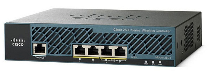 Bộ điều khiển WLAN sê-ri 2500 CISCO AIR-CT2504-25-K9