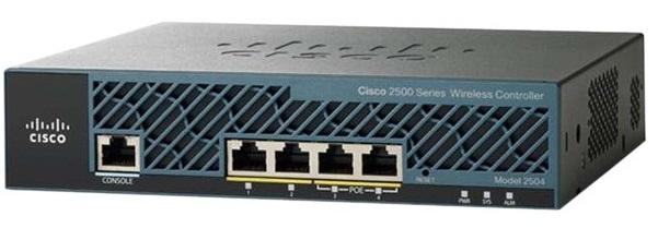 Bộ điều khiển không dây 2500 CISCO AIR-CT2504-5-K9