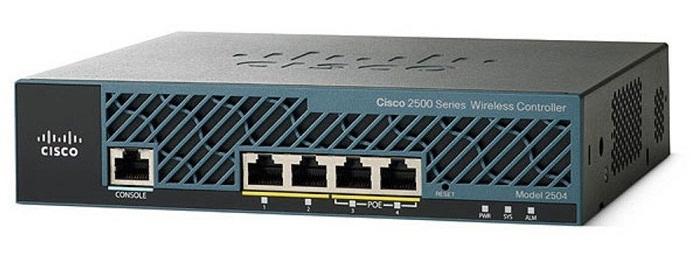 Bộ điều khiển WLAN sê-ri 2500 CISCO AIR-CT2504-50-K9