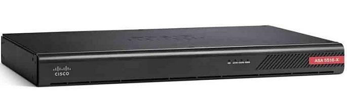 8GE Dịch vụ FirePower Tường lửa Cisco ASA5516-FPWR-K9