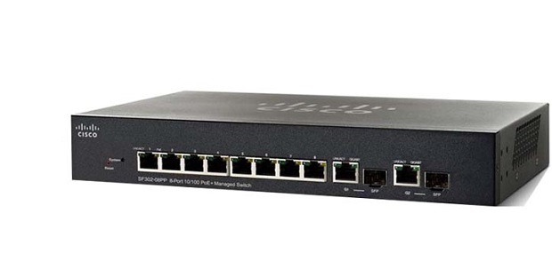 8 ports 10/100 PoE Managed Switch CISCO SF352-08MP-K9-EU
