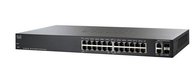 26-Port Gigabit Smart CISCO SG250-26-K9-EU Switch