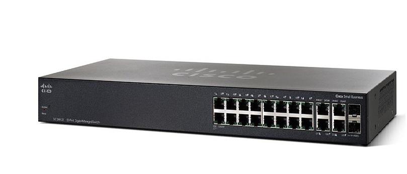 20-Port Gigabit Managed Switch CISCO SG350-20-K9-EU