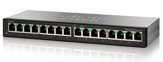 16-port 10/100/1000Mbps Switch CISCO SG95-16