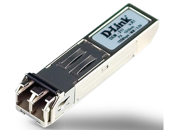 SFP Transceiver 100Base-FX Multi-mode D-Link DEM-211