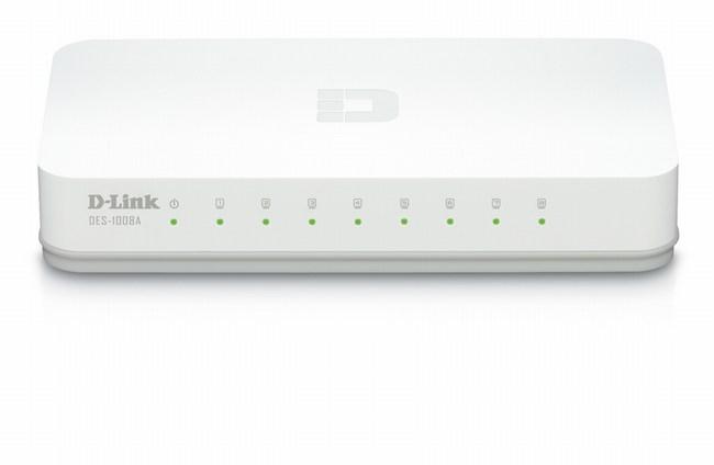 Chuyển mạch Ethernet 8 cổng D-Link DES-1008A