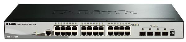 Chuyển mạch Gigabit SmartPro 28 cổng D-Link DGS-1510-28X