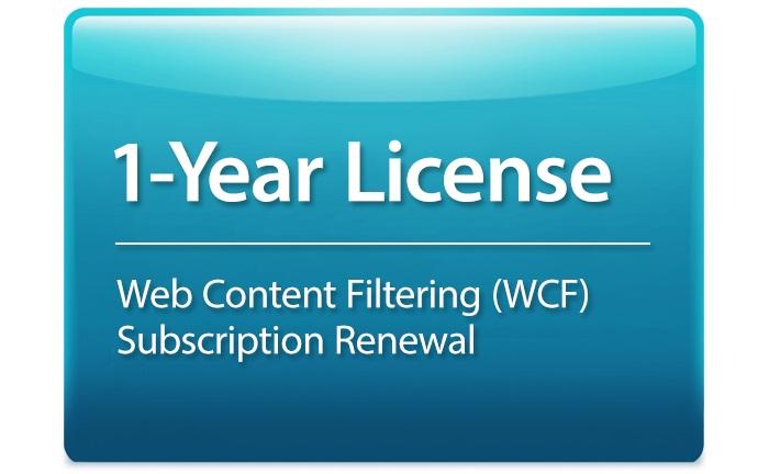 Giấy phép đăng ký lọc nội dung web D-Link DSR-1000AC-WCF-12-LIC