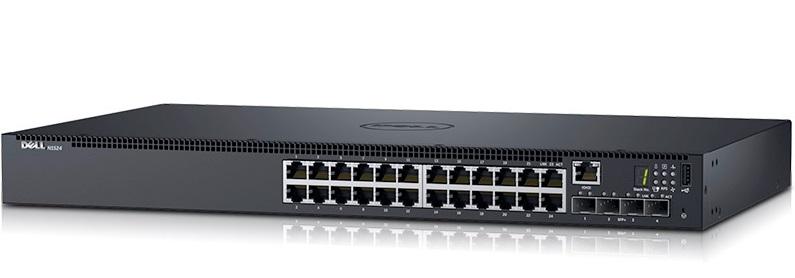 Công tắc quản lý Gigabit 24 cổng DELL N1524