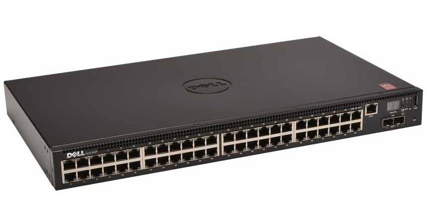 Công tắc quản lý Gigabit PoE 48 cổng DELL N2048P