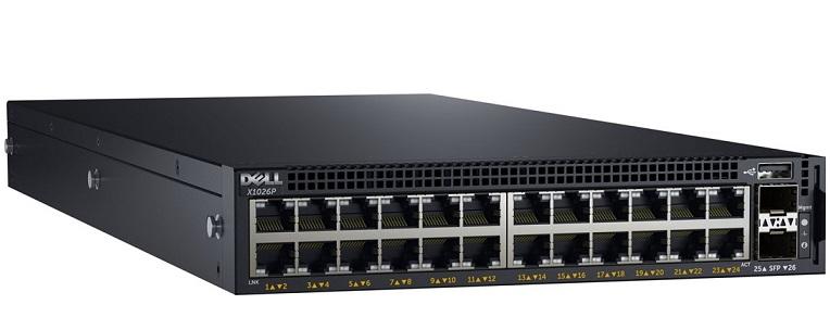 Công tắc quản lý Gigabit PoE 24 cổng DELL X1026P