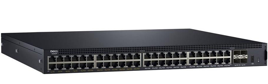 Công tắc quản lý Gigabit PoE 52 cổng DELL X1052P