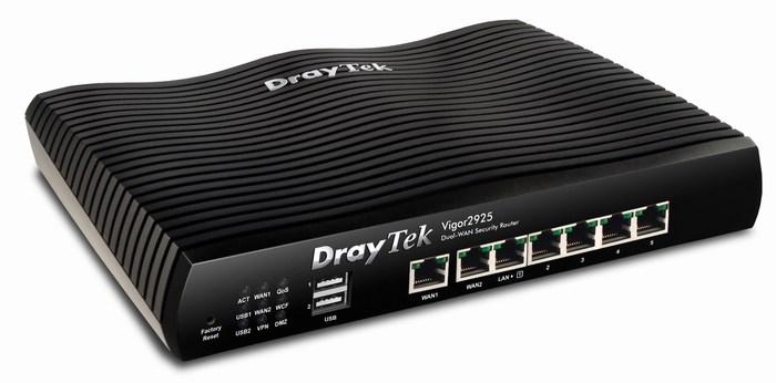 VPN, Tường lửa Dual-WAN Cân bằng tải DrayTek Vigor2925