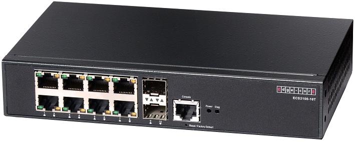 Công tắc thông minh 8 cổng Gigabit-Smart Pro Edgecore ECS2100-10T