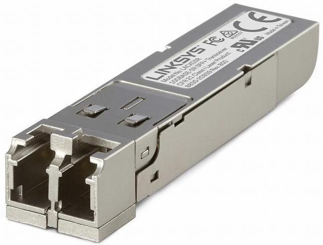 10GBASE-SR SFP + TRANSCEIVER FOR BUSINESS LINKSYS LACXGSR
