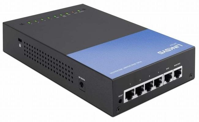 Bộ định tuyến Gigabit VPN kinh doanh Dual Wan LINKSYS LRT224