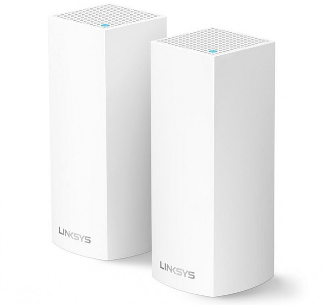AC4400 Intelligent Mesh WiFi System LINKSYS WHW0302 (2 Packs)