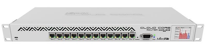 Bộ định tuyến lõi doanh nghiệp Mikrotik CCR1016-12G