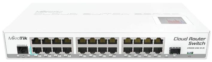 Bộ chuyển đổi bộ định tuyến Mikrotik CRS125-24G-1S-IN