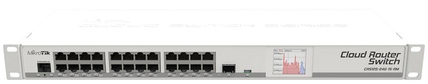 Bộ chuyển đổi bộ định tuyến Mikrotik CRS125-24G-1S-RM