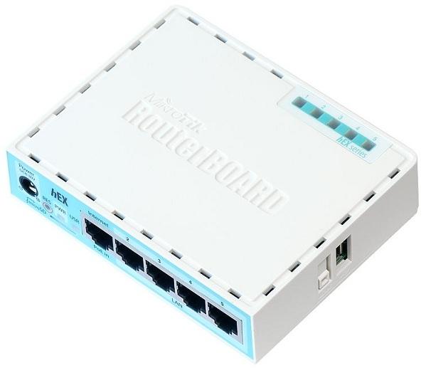 Bộ định tuyến Mikrotik RB750-Gr3 (hEX)