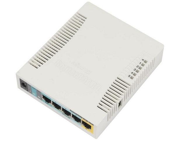 Bộ định tuyến điểm truy cập WiFi Mikrotik RB951Ui-2HnD