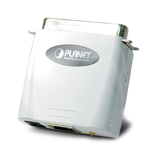 10 / 100Mbps Direct Attached PLANET Print Server FPS-1101