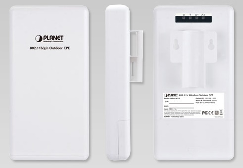 2.4GHz 150Mbps 802.11n Outdoor Wireless Point PLANET WNAP-6315