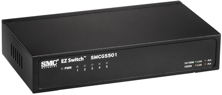 Bộ chuyển mạch Gigabit 5 cổng SMC SMCGS501
