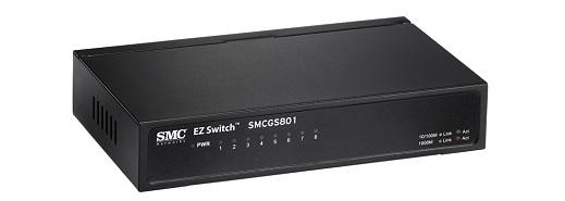 Bộ chuyển mạch Gigabit 8 cổng SMC SMCGS801