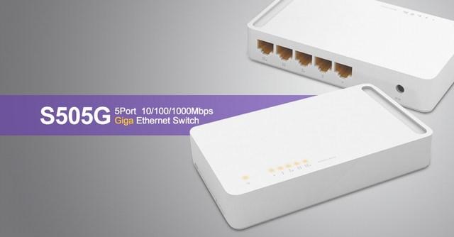 5 ports 10/100 / 1000Mbps Switch TOTOLINK S505G
