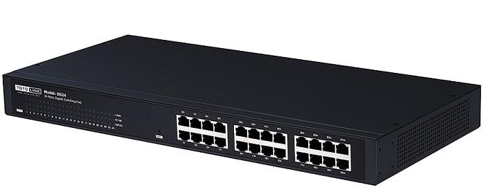 Công tắc không quản lý Gigabit 24 cổng TOTOLINK SG24