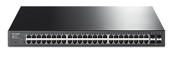 48-Port Gigabit Smart PoE + Switch with 4 SFP TL-LINK TL-SG2452P