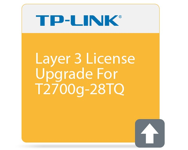 Layer 3 upgrade license for T2700G-28TQ TP-LINK T2700G-28TQ-L1000