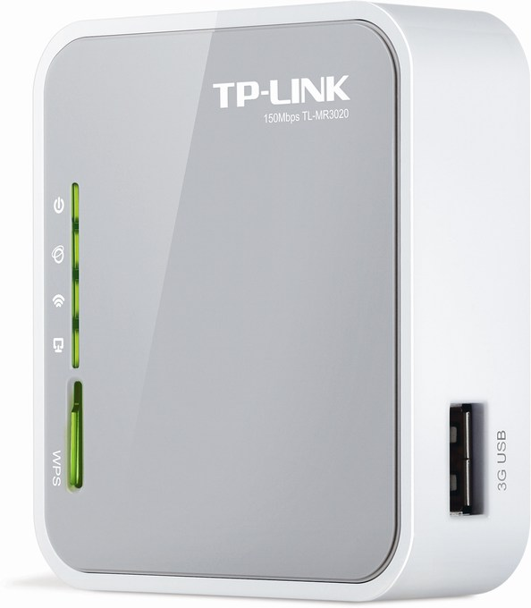 TP-LINK Portable 3G / 4G Wireless N Router