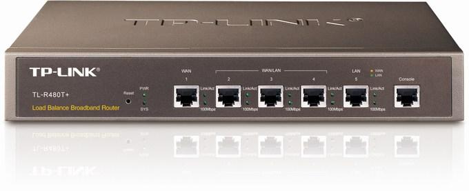 Load Balance Broadband Router TP-LINK TL-R480T+