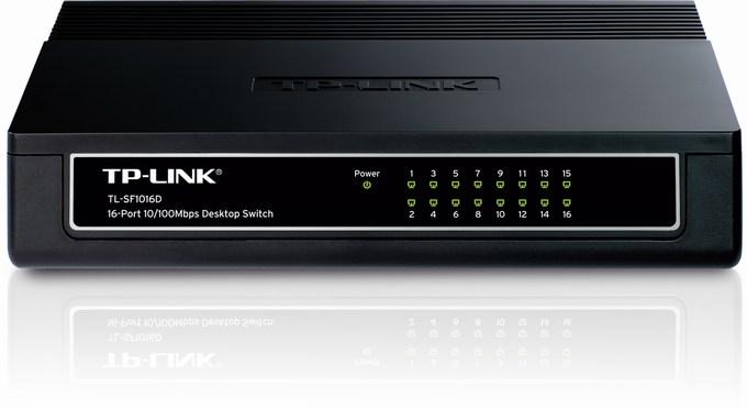 16-Port 10 / 100Mbps Switch TP-LINK TL-SF1016D