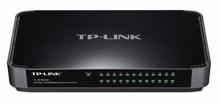 24-Port 10 / 100Mbps Desktop Switch TP-LINK TL-SF1024M