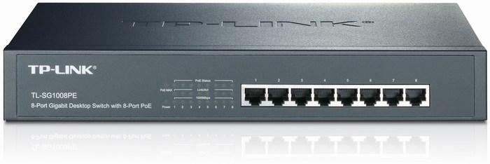 8-Port Gigabit PoE Switch TP-LINK TL-SG1008PE