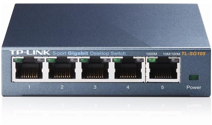 5-Port Gigabit Switch TP-LINK TL-SG105