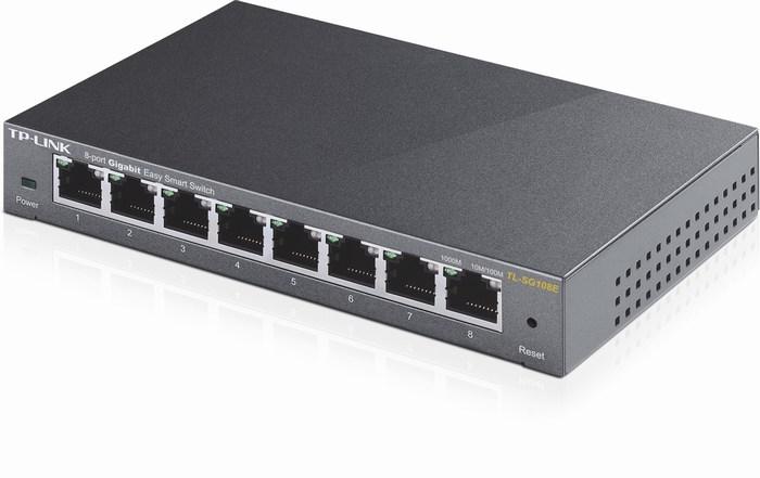 8-Port Gigabit Easy Smart Switch TP-LINK TL-SG108E