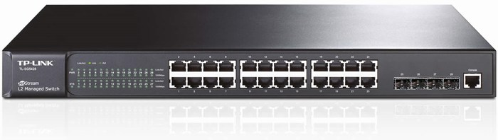 24-Port + 4 Slot SFP Gigabit Switch TP-LINK TL-SG5428