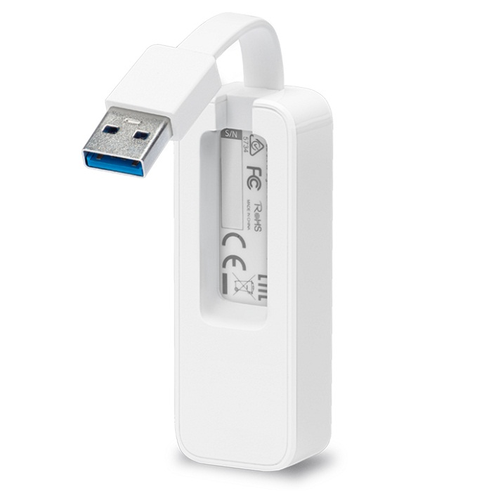 USB 3.0 network adapter to Gigabit TP-Link UE300 Ethernet