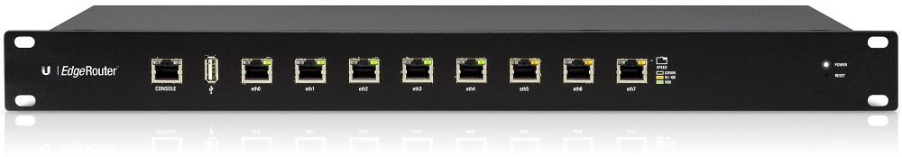 Bộ định tuyến Gigabit Ethernet 8 cổng UBIQUITI EdgeRouter ER-8
