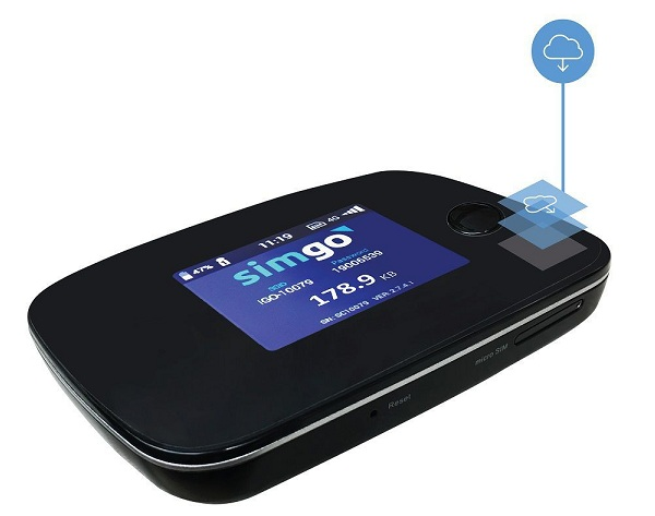 4G smart SIMGO SG800 wifi transmitter
