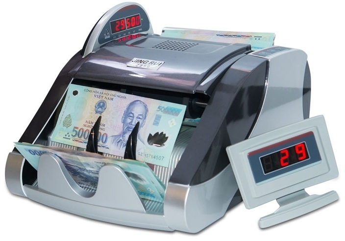 Máy đếm tiền JINGRUI 2880
